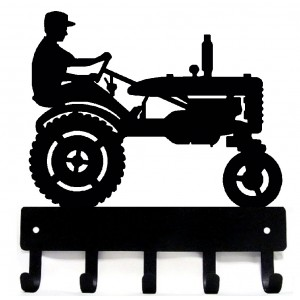 Tractor & Farmer Key Rack