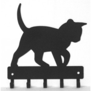 Cat #14 Key Rack with hooks