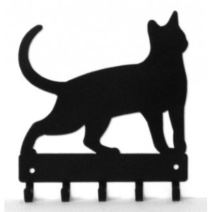 Cat #17 Key Rack with hooks