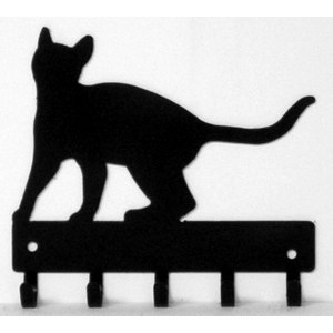 Cat #18 Key Rack with hooks