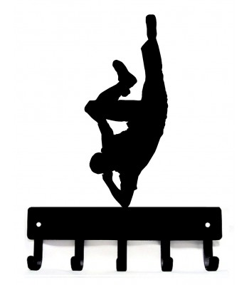 Breakdancer #1 Dance Medal Hanger / Key Rack