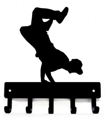 Breakdancer #2 Medal Hanger / Key Rack -Breakdancer- 2