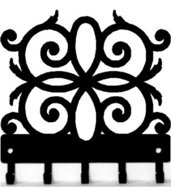 Decorative Scroll K04 - Key Rack - Magnetic Hooks