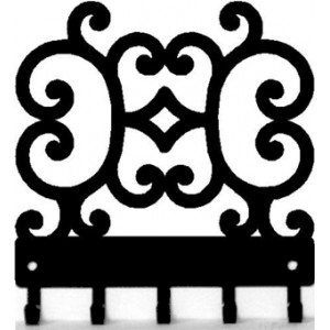 Decorative Scroll S02 - Key Rack