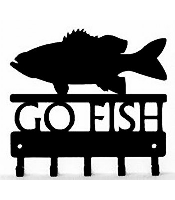 Bass Go Fish  - Key Rack