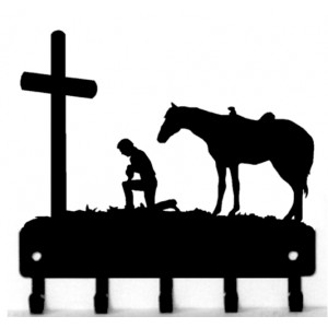 Cowboy at the Cross Key Rack, Western design
