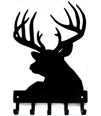 Buck Head with Antlers - Key Rack