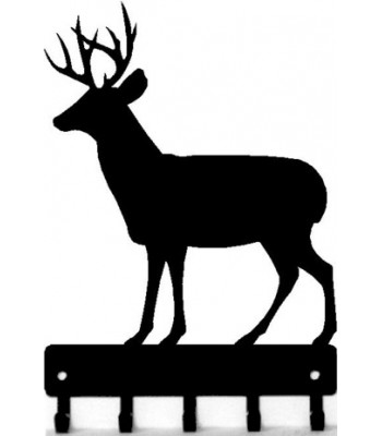 Deer 1 Buck -Key Rack