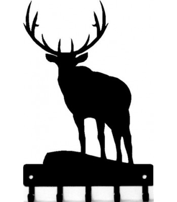Elk Bull 2 -Key Rack