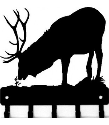 Elk Bull 1 -Key Rack
