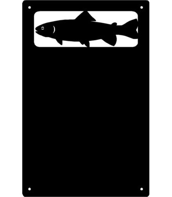 Trout Fish Wall Art Magnetic Memo (11x17)