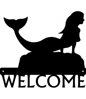 Mermaid #02 Welcome Sign