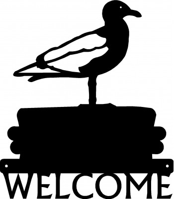 Seagull  Welcome Sign