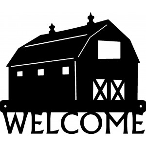 Barn Welcome Sign