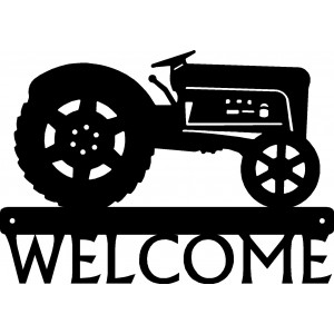 Tractor #12 Welcome Sign