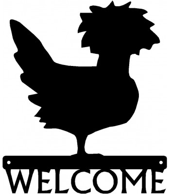 Polish Chicken #01 Welcome Sign