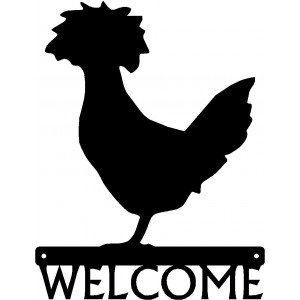 Polish Chicken #02 Welcome Sign