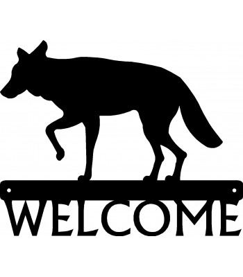 Coyote Welcome Sign