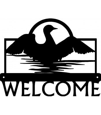 Loon Lake Bird Welcome Sign