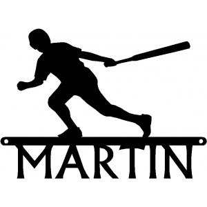 Baseball Batter- Personalized Sports Sign