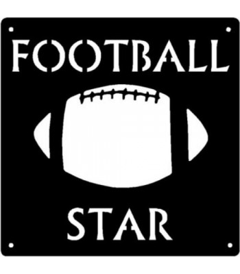 Football Star - Sport Wall Art Sign