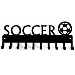 Soccer Ball - Medal Rack Display