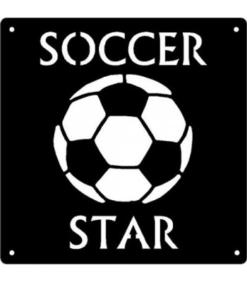 Soccer Star - Sport Wall Art Sign