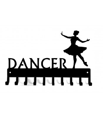 Dance Ballerina #2 Medal Rack - Custom option