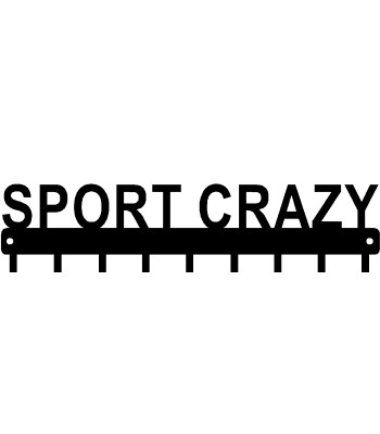 Sport Crazy  - Medal Rack Display