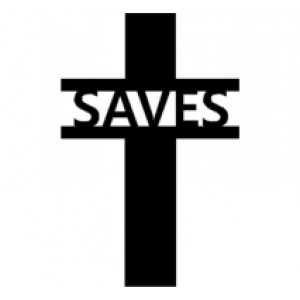 Cross #10 SAVES Religious Wall Art  Room Decor