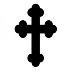 Cross #12 Religious Wall Art  Room Decor