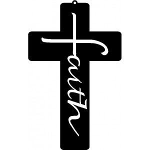 Faith Cross - 3 sizes